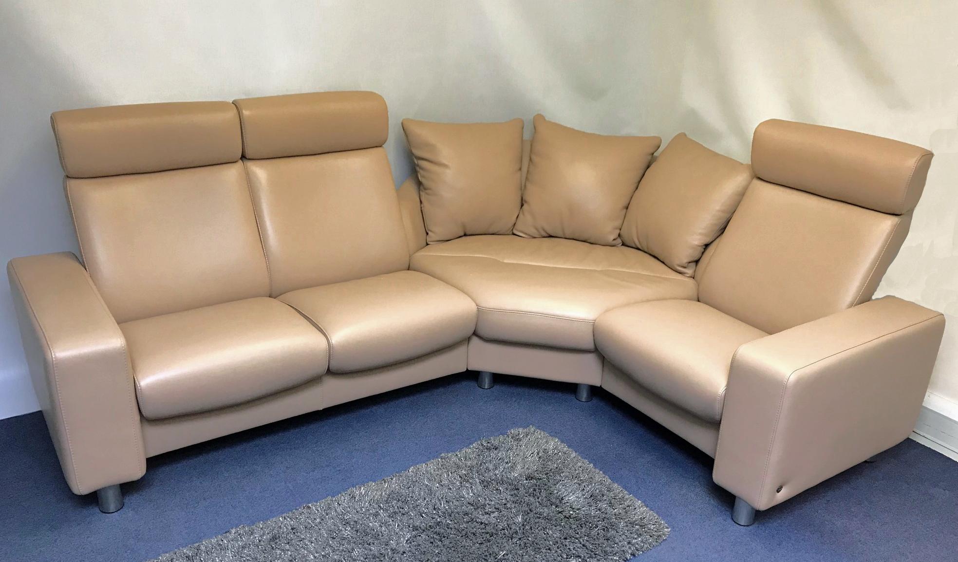 Stressless Arion High Back Corner Sofa