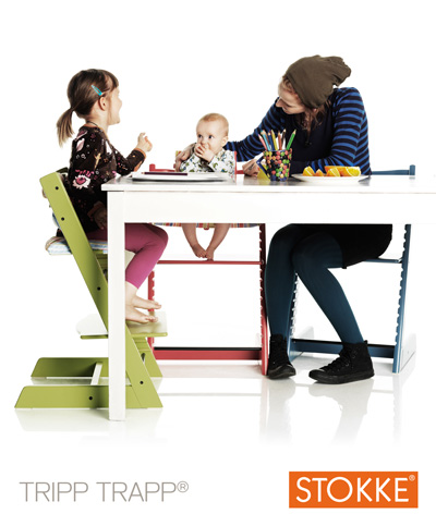 Tripp Trapp®: the chair that grows with the child