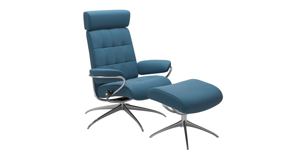 London with Adjustable Headrest
