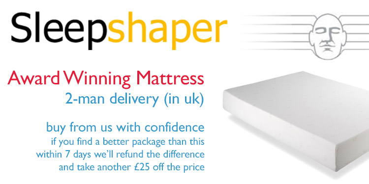 More SleepShaper Mattresses