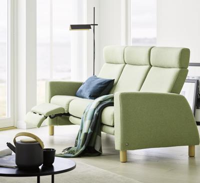 Stressless Arion High Back Sofa by Ekornes