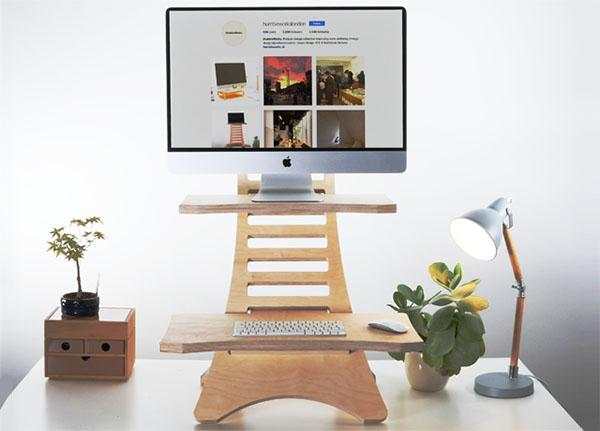 HumbleWorks Standing Mini Desk