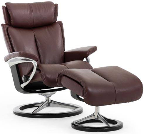 Stressless Magic Recliner By Ekornes Back In Action