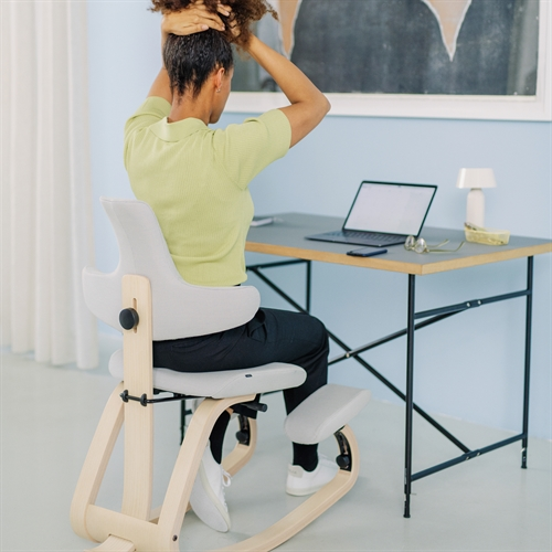 Kneeling Chairs Including Variable Back In Action