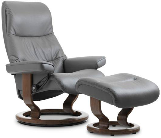 Outstanding Stressless View Recliner By Ekornes Back In Action Unemploymentrelief Wooden Chair Designs For Living Room Unemploymentrelieforg