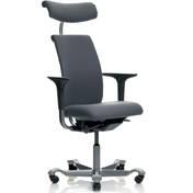 HO5 5500 High Back - Partially Upholstered