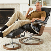 Stressless Admiral on Classic and Signature Base