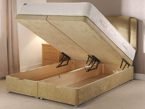 Backinaction Ottoman Bed - Foot Opening