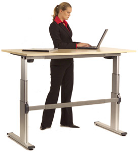 Back in Action Adjustable Desk
