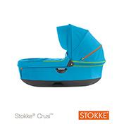 Stokke Stroller Carrycot - Blue Urban