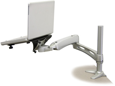 Ergotron LX Desk Mount Notebook Arm - Silver