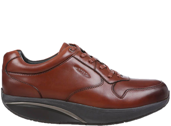 MBT Said 6S Lace Up M Burnished Dark Brown