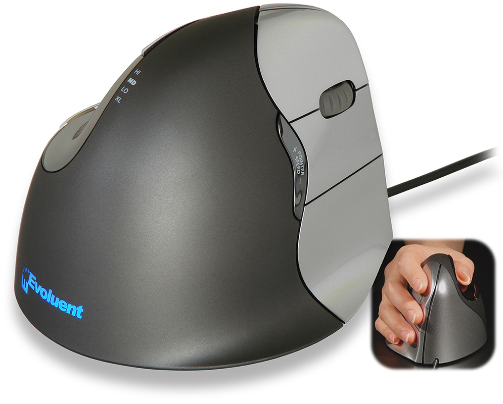Evoluent Vertical Mouse 4 M77 - Right Handed