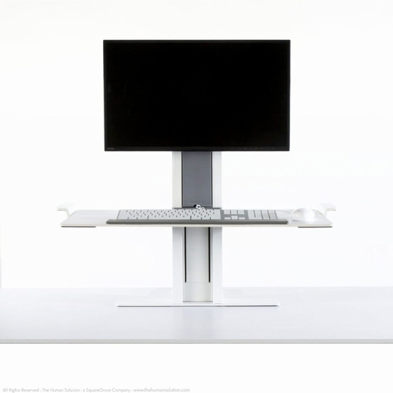 Humanscale® QuickStand Sit-Stand Workstation