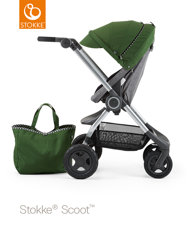 Oppsiktsvekkende Stokke Scoot Pushchair - Back in Action DW-87