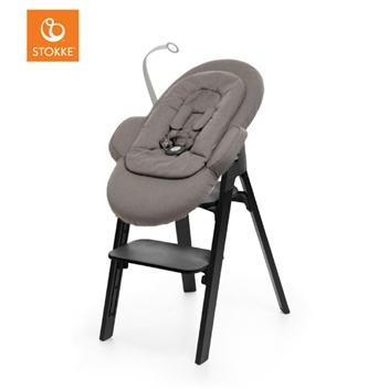 Stokke Steps - Black with Newborn Set Greige