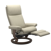 Stressless Aura Recliner with Leg Comfort