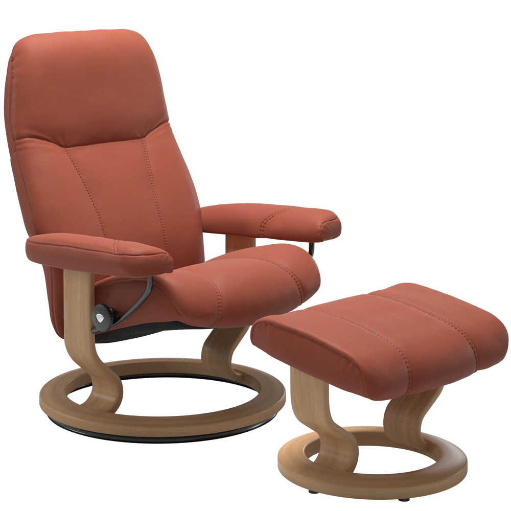 Stressless Consul Recliner with Footstool
