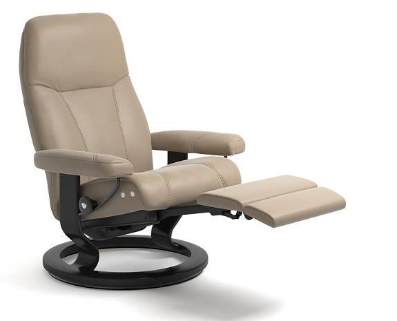 Stressless Consul Recliner with Leg Comfort