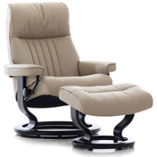 Stressless Crown Recliner with Footstool