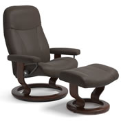 Stressless Garda and Consul Recliners on Classic Base