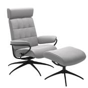 Stressless London Recliner with optional Footstool - Adjustable Headrest