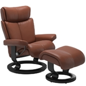 Stressless Magic Recliner with Footstool
