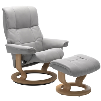 Stressless Mayfair Recliner with Footstool