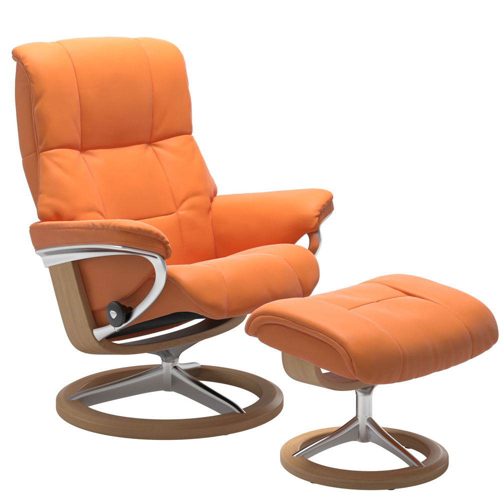 Stressless Mayfair Recliner with Footstool - Signature Base