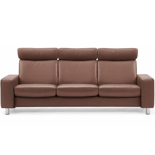 Stressless Pause 3s Sofa - High Back