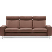 Stressless Pause 3s Sofa - High Back