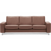 Stressless Pause 3s Sofa - Low Back