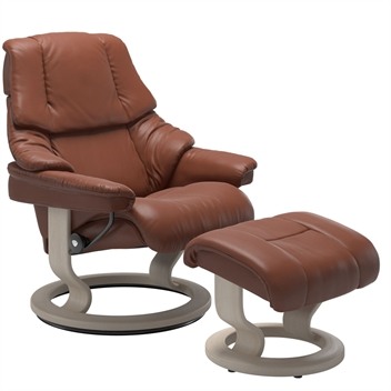 Stressless Reno Recliner with Footstool