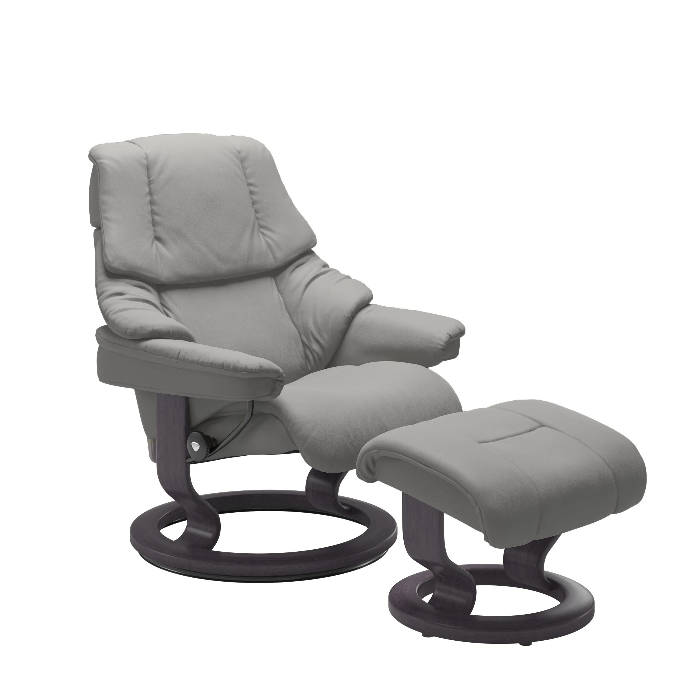 Stressless Reno Recliner with Footstool (Classic Base)