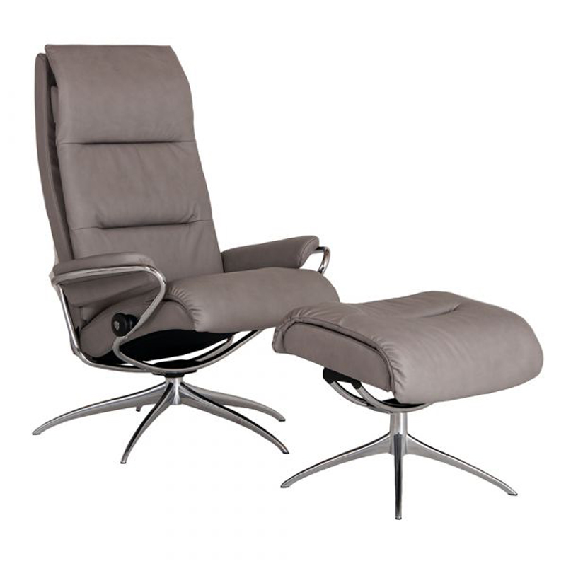 Stressless Tokyo Recliner with optional Footstool - Standard Headrest