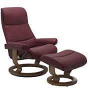 Stressless View Recliner with Footstool