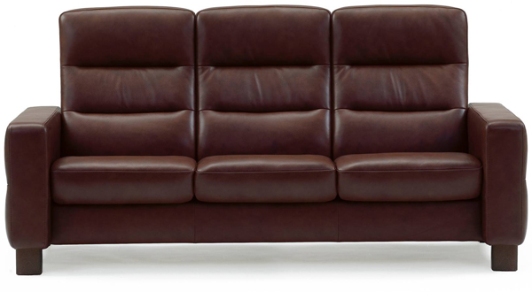 Stressless Wave 3s Sofa - High Back