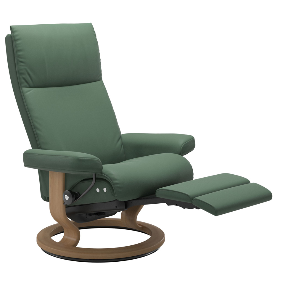 Stressless Aura Recliner with Power - Classic Base (Electric)