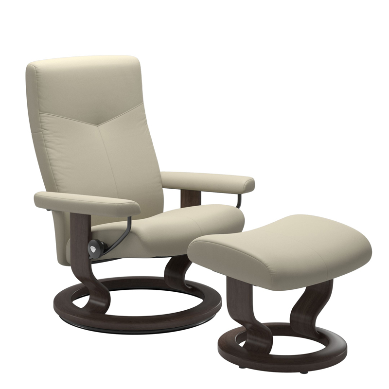 Stressless Dover Classic with Footstool