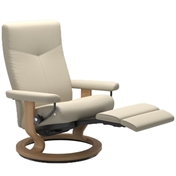 Stressless Dover Recliner with Leg Comfort (Battery)