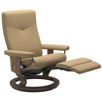 Stressless Dover Recliner with Power - Classic Base (Electric)