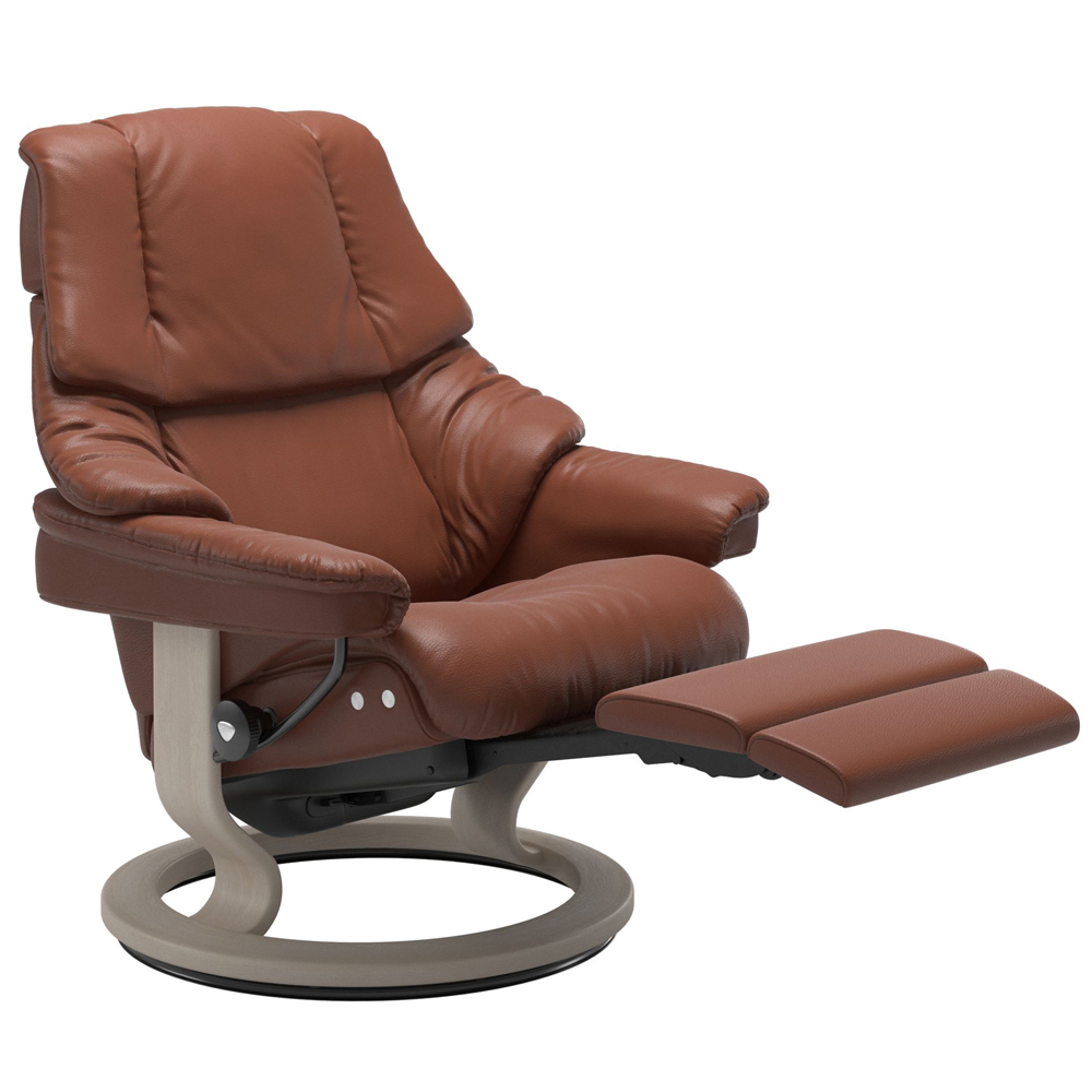 Stressless Reno Recliner with Power - Classic Base (Electric)
