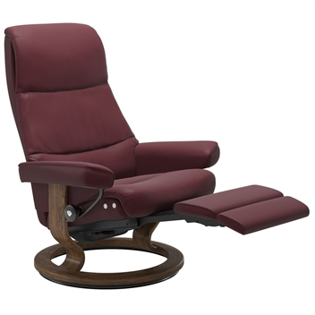 Stressless View Recliner with Power - Classic Base (Electric)