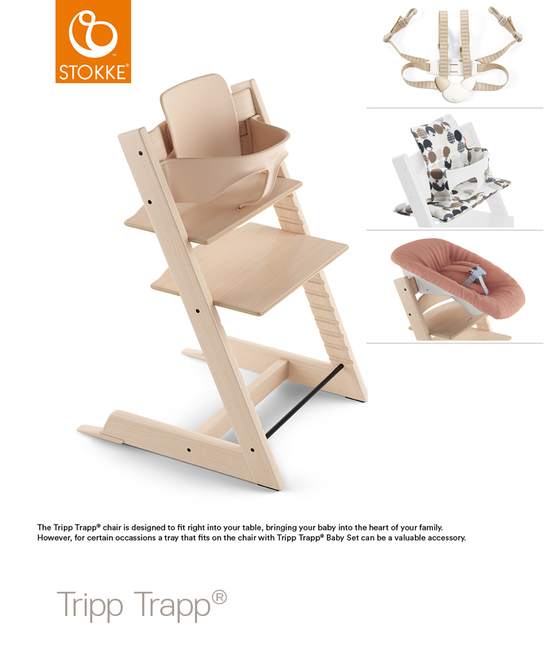 Tripp Trapp Complete Package - from birth - No Tray