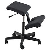 Wing Kneeling Chair Black Cross Base