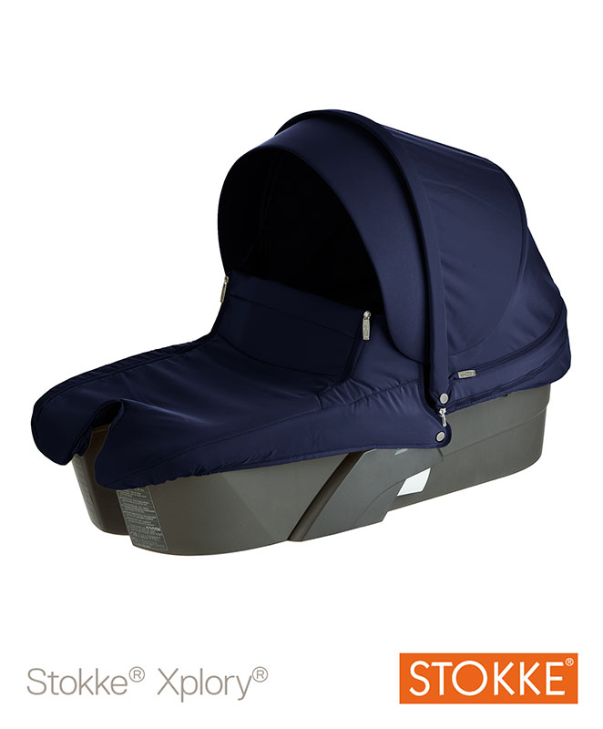 Xplory Carrycot (Babybag) with Style Kit