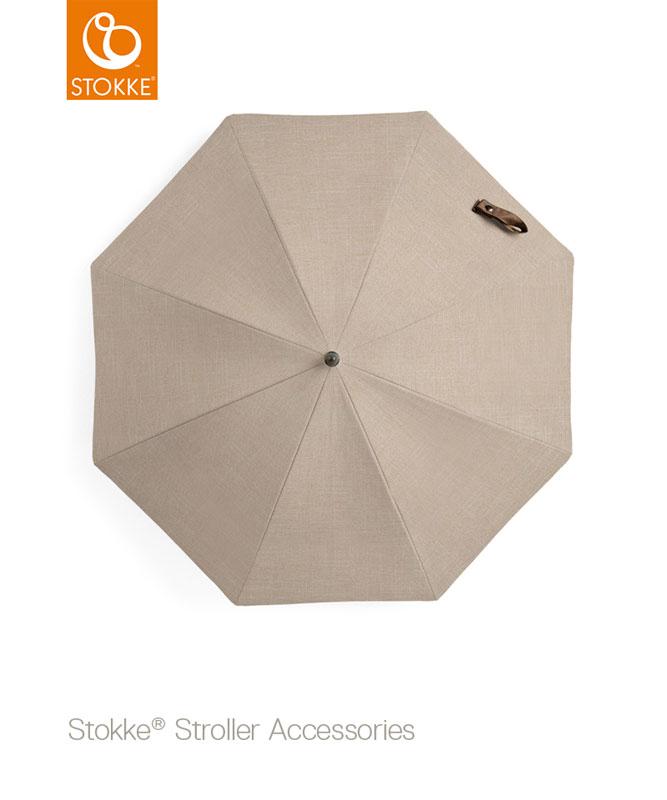 Stokke Silver Stem Parasol - Silver Stem