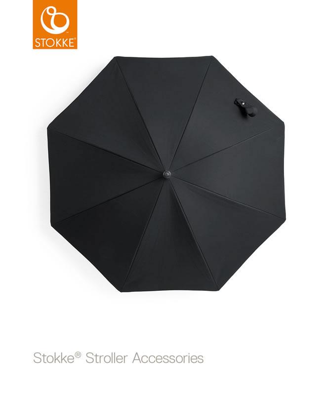 Stokke Black Stem Parasol - Black Stem